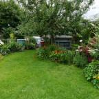 In unserem Garten